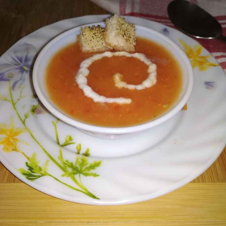 How to make Red Pumpkin Soup.