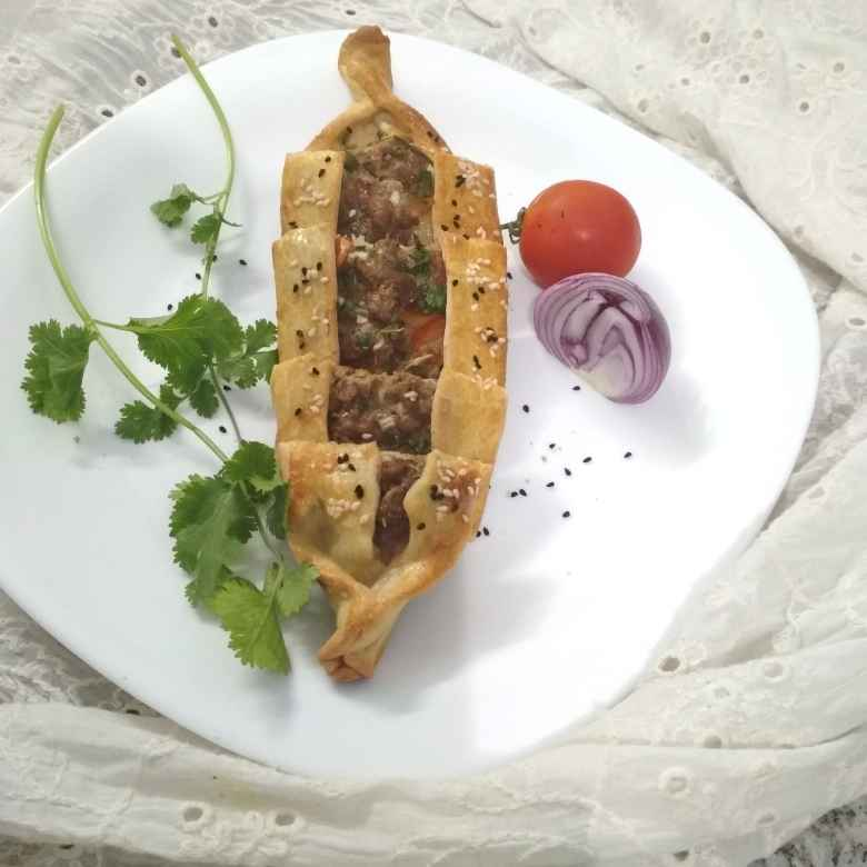 How to make Turkish Mutton Pide.