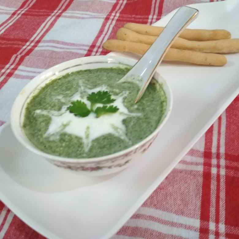 Photo of Cucumber cream soup. by Naheed Alam at BetterButter