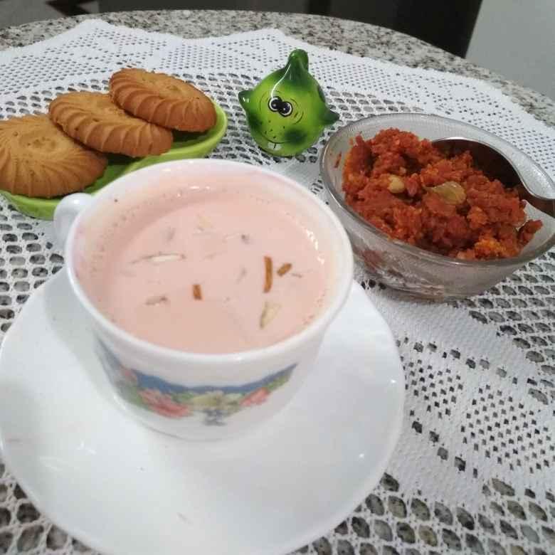 How to make Kashmiri Tea/Pink Tea.