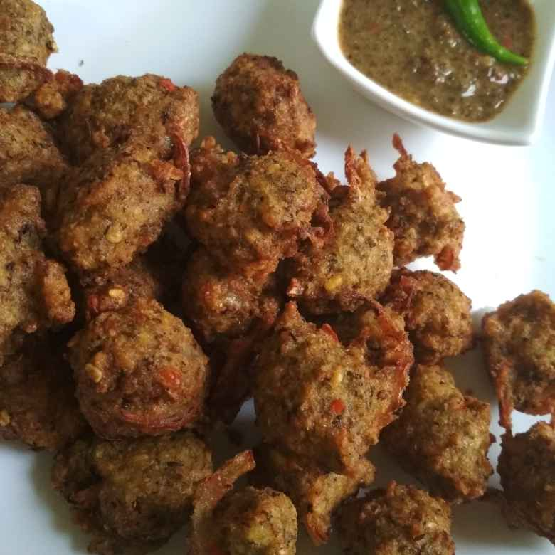 How to make Red lentil fritters.