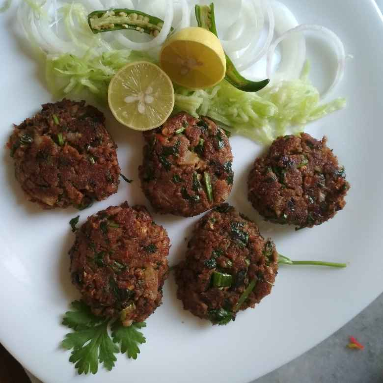 Photo of Mutton keema kebab. by Naheed Alam at BetterButter