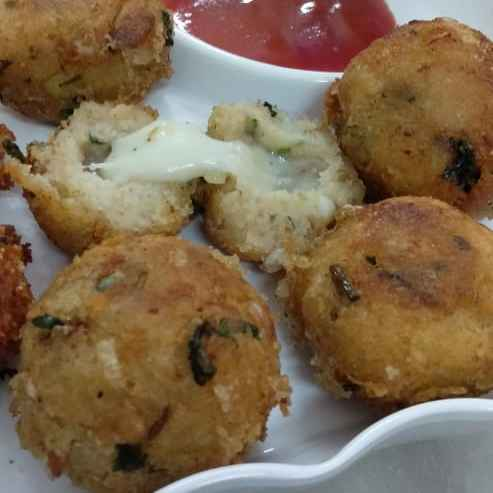 Photo of Semolina -Cheese Balls. by Naheed Alam at BetterButter