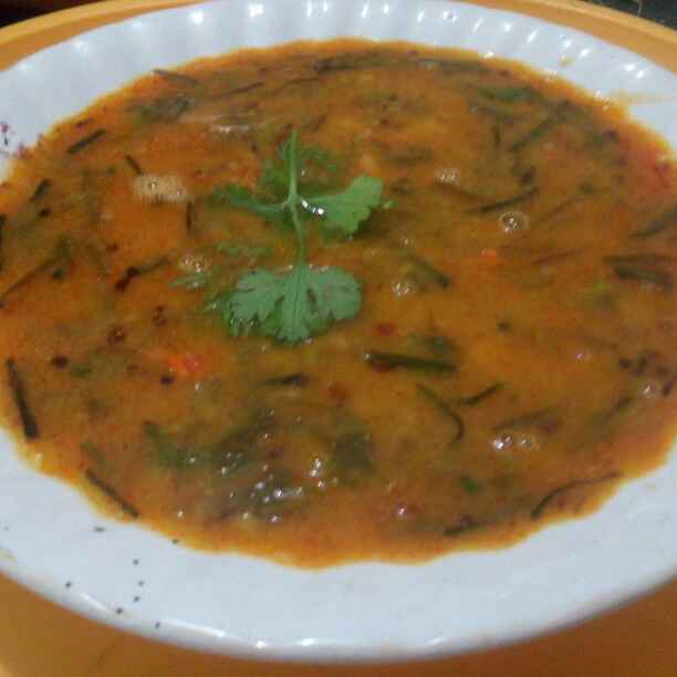 Photo of Spinach Garlic Dal by Nahid Syyeda at BetterButter