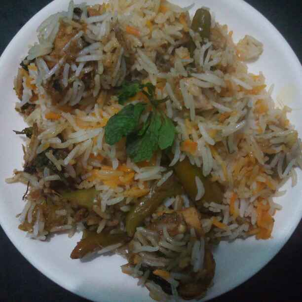 Photo of Chiken biryani by Nahid Syyeda at BetterButter