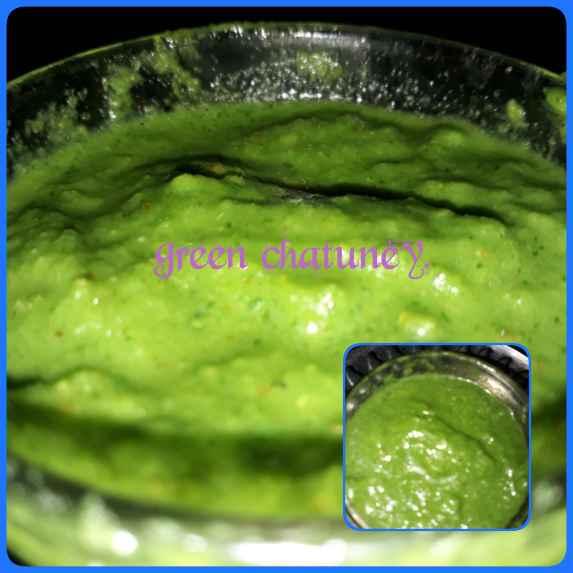 Photo of Green chatni by Naina Bhojak at BetterButter