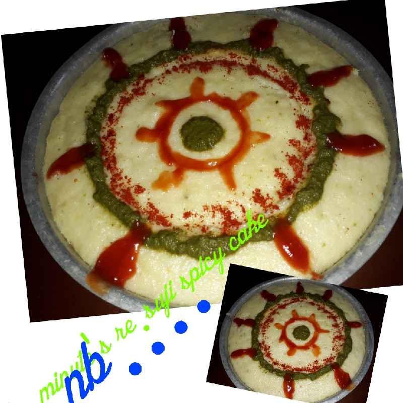 Photo of Semolina spicy cake. by Naina Bhojak at BetterButter