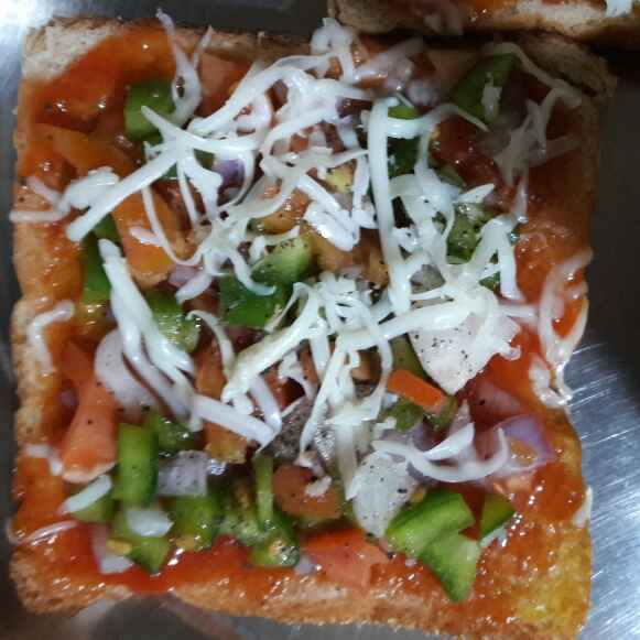 How to make Vege pizza