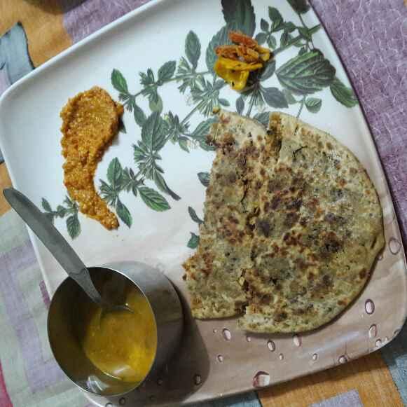How to make Papad ka paratha