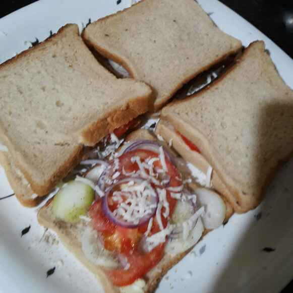 How to make Veg Sandwich