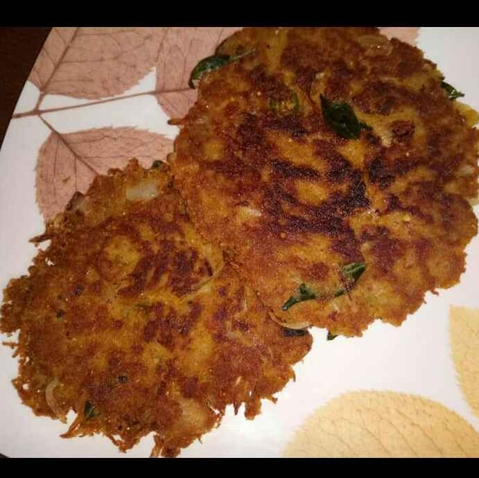 How to make கறி அடை