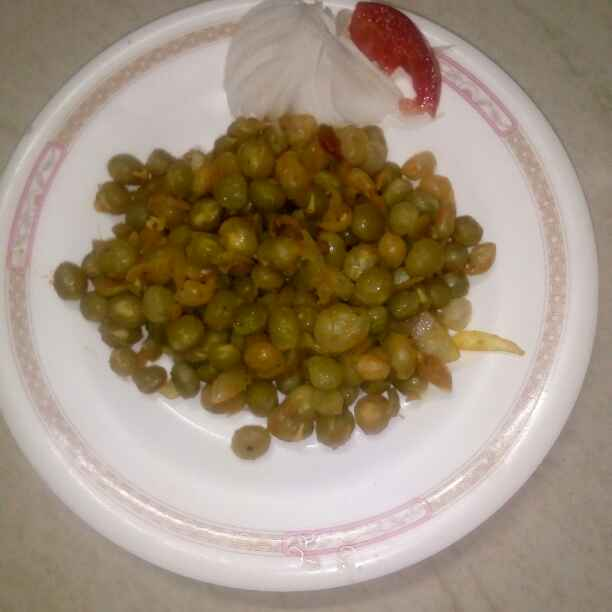 Photo of Spicy peas sundal by Najima Afsheen at BetterButter