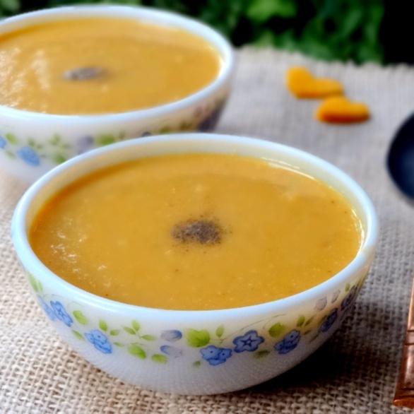 Photo of Kurisuppe | Red winter pumpkin soup by Namita Tiwari at BetterButter