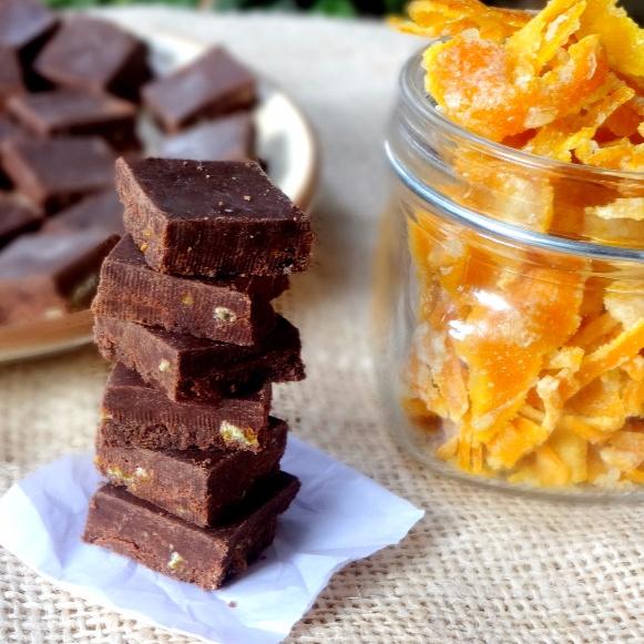 Photo of Orange Peel Dark Chocolates by Namita Tiwari at BetterButter