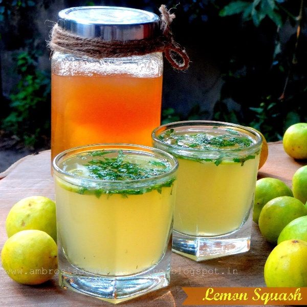 How to make Lemon Squash