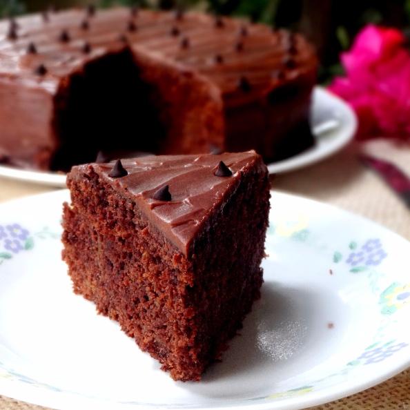 Photo of Eggless Chocolate Orange Cake by Namita Tiwari at BetterButter