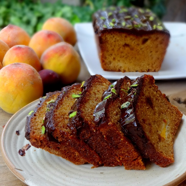 How to make Summer Stone Fruit Loaf
