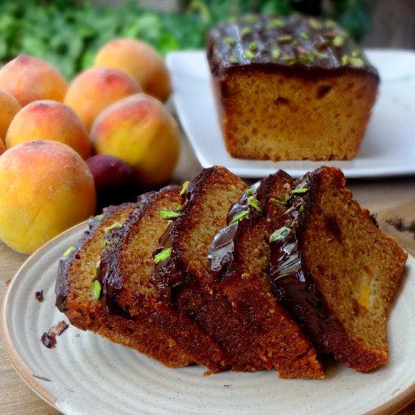 How to make Summer Stone Fruit Loaf