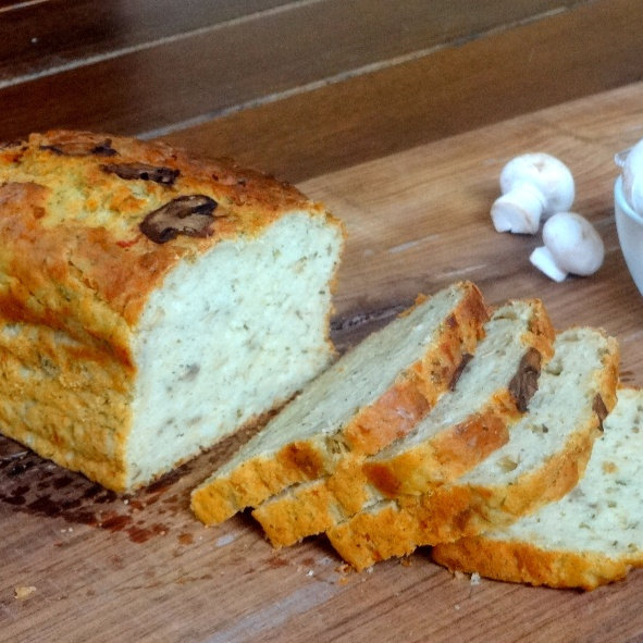 Photo of Mushroom Cheese and Herb Bread by Namita Tiwari at BetterButter