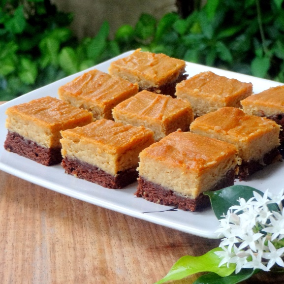 How to make Peanut Butter Cream Cheese Brownies