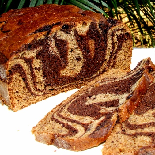 How to make Marbled Banana Bread