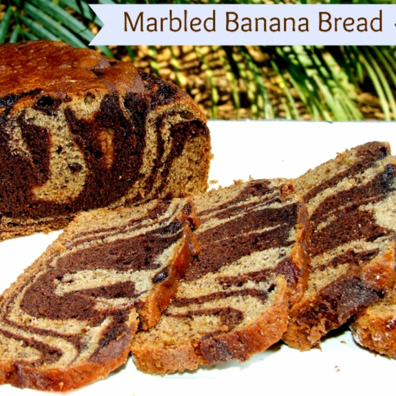 Photo of Marbled Banana Bread by Namita Tiwari at BetterButter