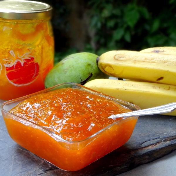 Photo of Mango Banana Jam by Namita Tiwari at BetterButter