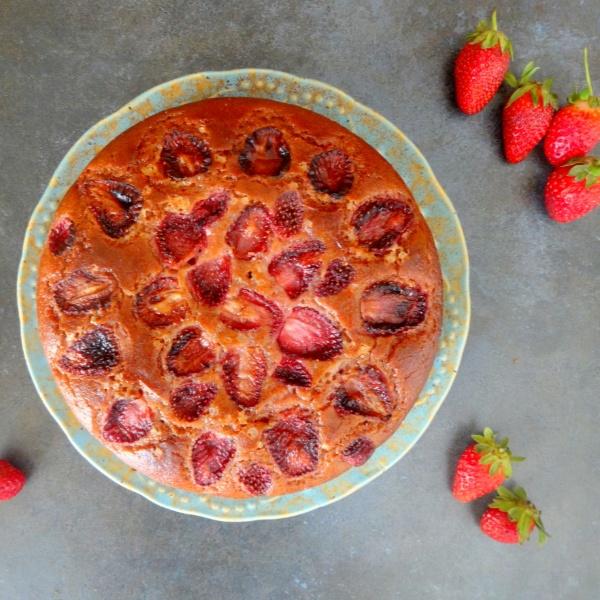 Photo of Eggless Strawberry Cake by Namita Tiwari at BetterButter
