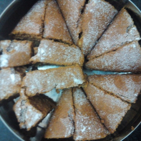 Photo of Eggless Whole Wheat Flour Dry Dates and Dry Fruit Cake by Namrata Vardhaman at BetterButter