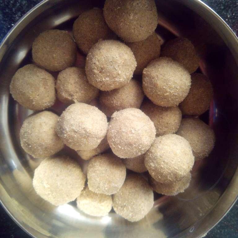 Photo of Pearl millet sweet balls ( nectareous pearls) by Nandhini Rajkumar at BetterButter