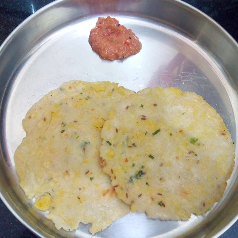 How to make Angakar roti (with a blend of spices)