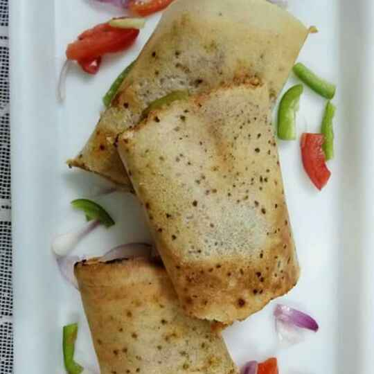 How to make Chinese Veg dosa roll