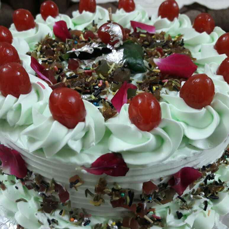 How to make Paan cake