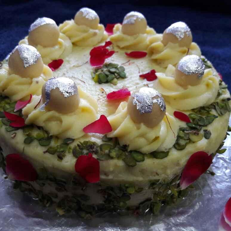 How to make Fast (vrat) Rasmalai cake