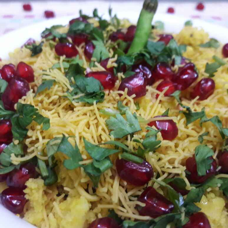 Photo of Sev khamani by Nandini Maheshwari at BetterButter
