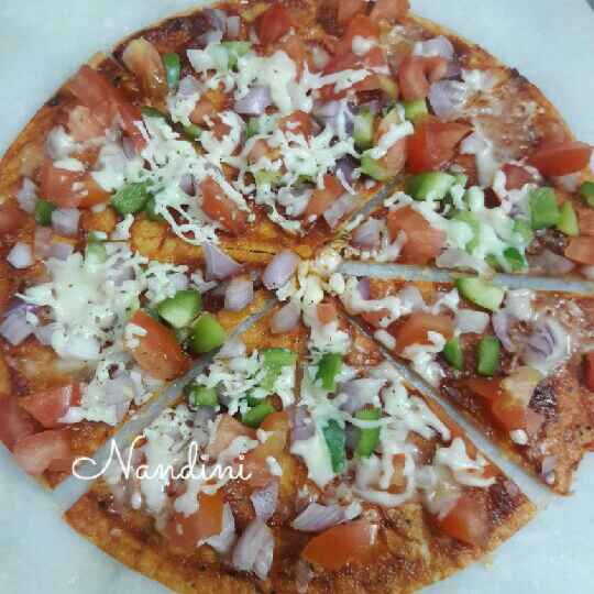Photo of Pizza khakhra by Nandini Maheshwari at BetterButter