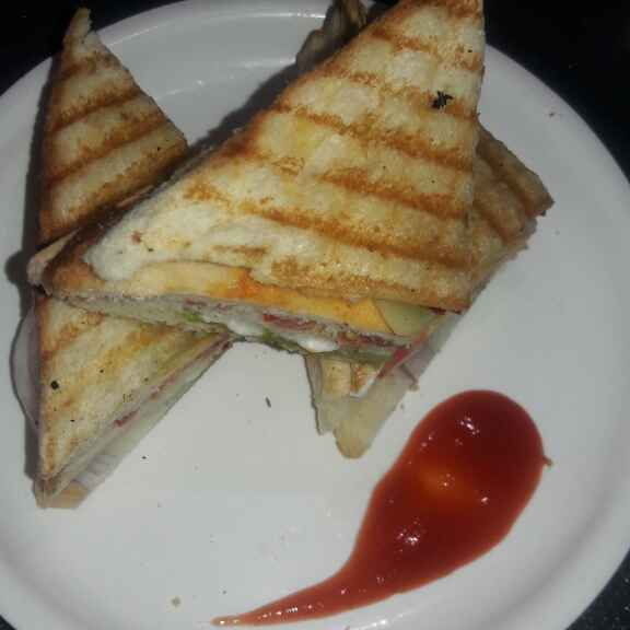 How to make Vegetable grilled sandwich