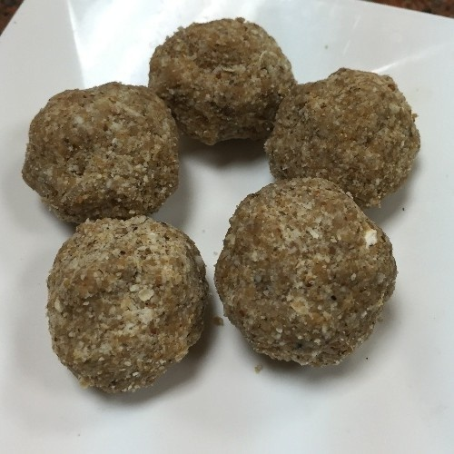 Photo of Badami Oats Laddu by Nandini Mithun at BetterButter