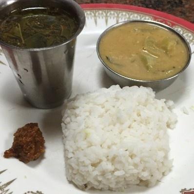Photo of Padwal Kootu, Orange Peel Chutney and Pomegranate Rasam by Nandini Mithun at BetterButter