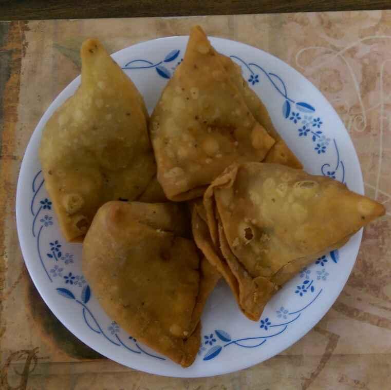 Photo of Chicken keema samosa by Nandini Mitra at BetterButter
