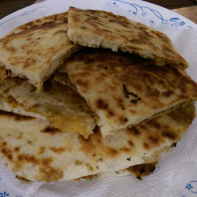 How to make Chicken keema kulcha