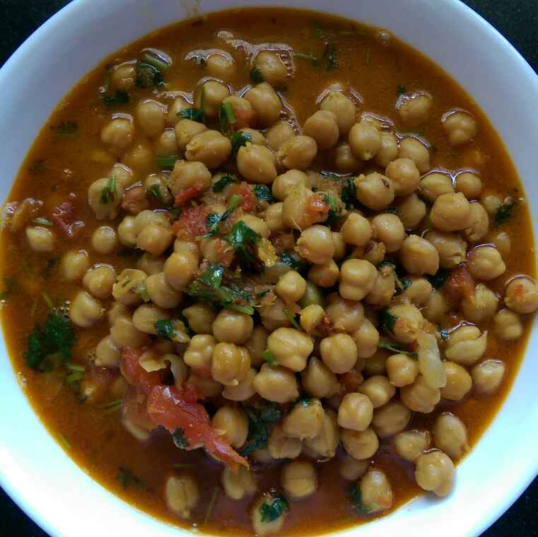 How to make Chole ( no onion , no garlic )