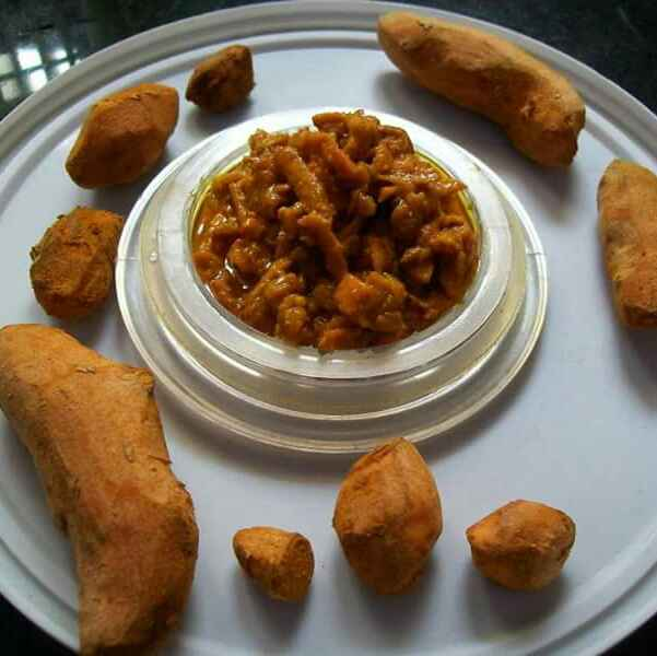How to make Haldi ka achar