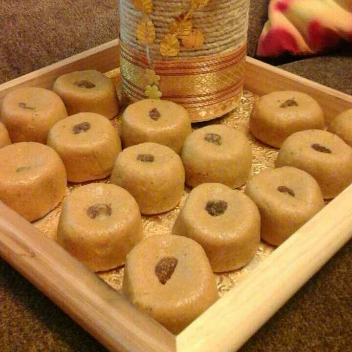 How to make Besan and Cheese Peda