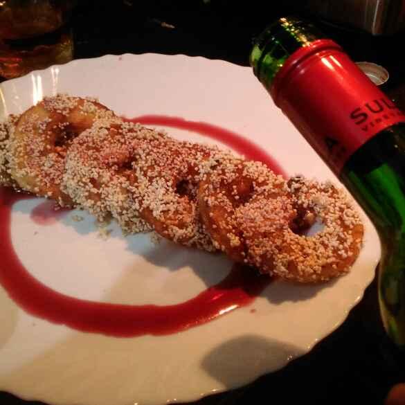 Photo of Apple Ramdaana Red Wine Doughnuts by Nandini Rathore at BetterButter