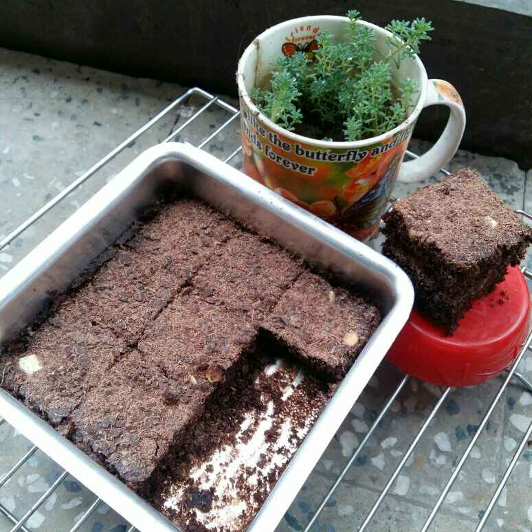 How to make Brownie choco cake