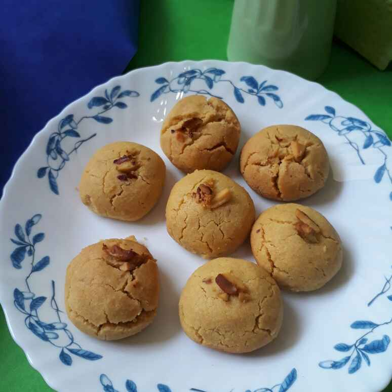 Photo of Short Bread Biscuits In Pressure Cooker by Nandini Rathore at BetterButter