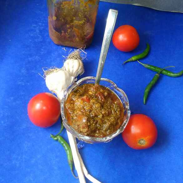 How to make Tamatar Ka Achar