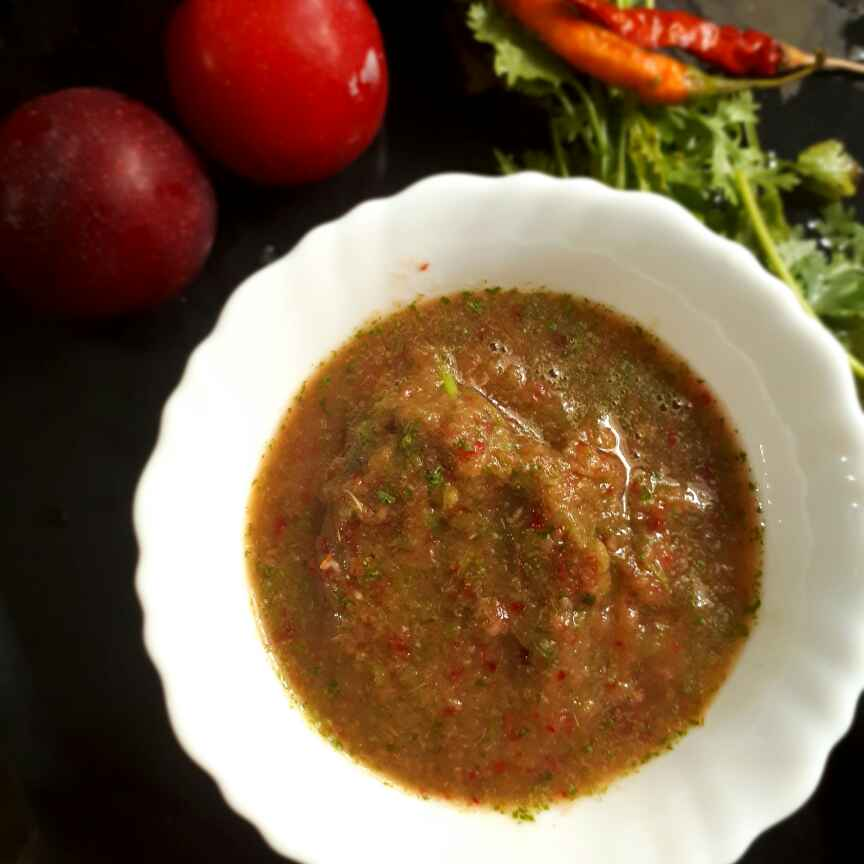 How to make Onion & plum chutney
