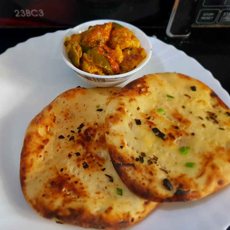 How to make Butter garlic Naans